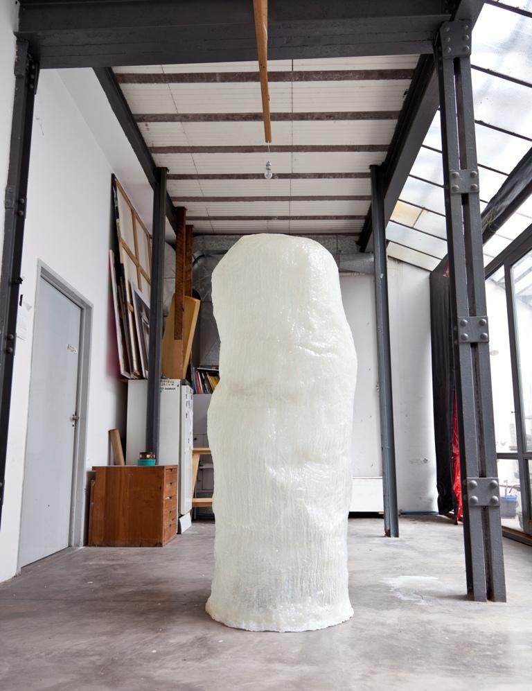 Protoforma,  resin, 7 x 3 x 3 feet, 2013.