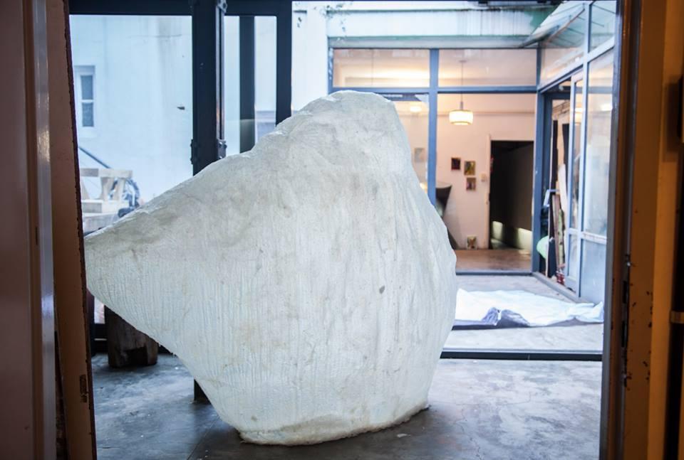 Protoforma , resin, 7 x 10 x 5 feet, 2013.