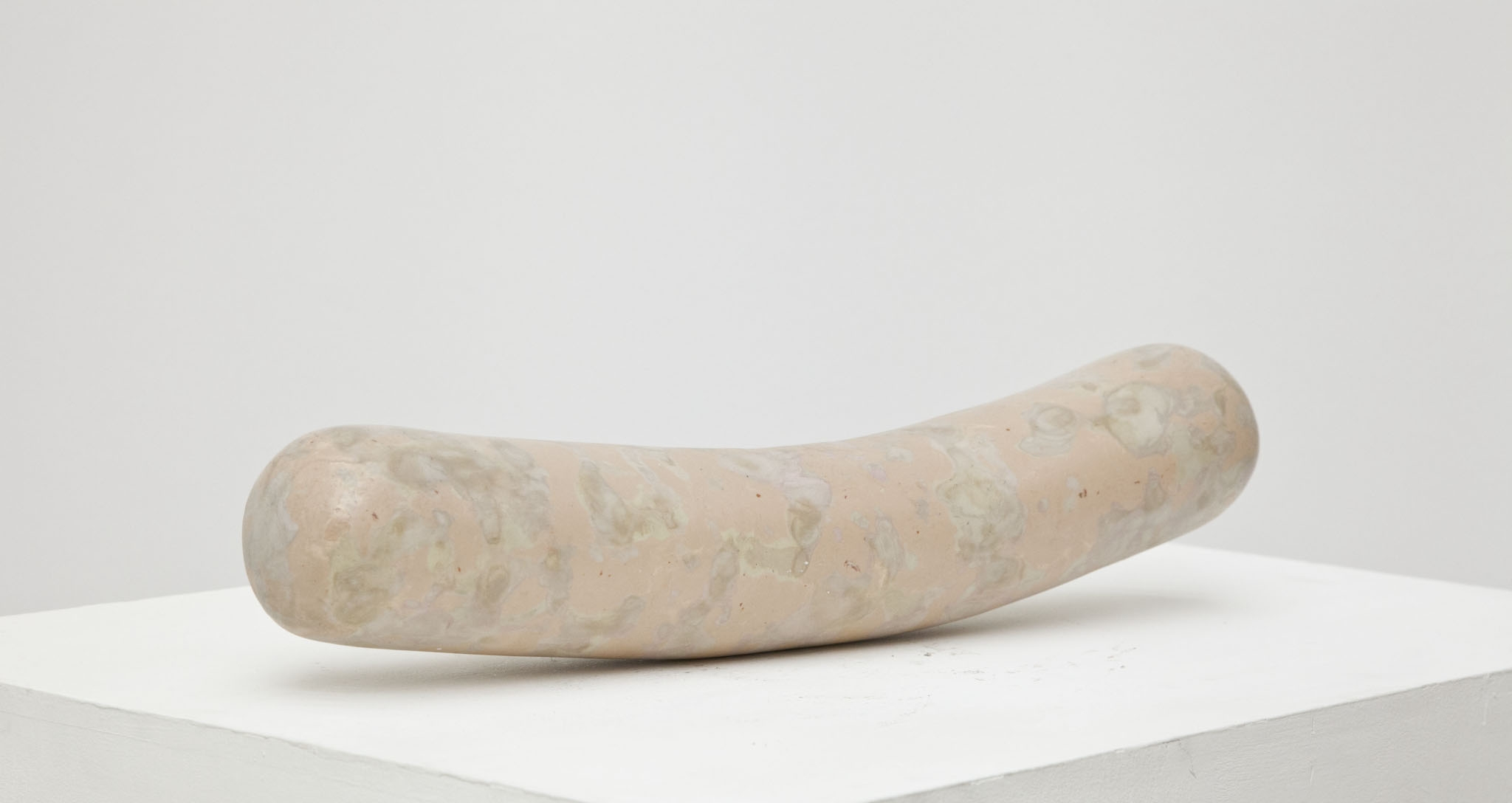 Salchicha (sausage) , epoxy putty, 5 x 18 x 5 in, 2012.