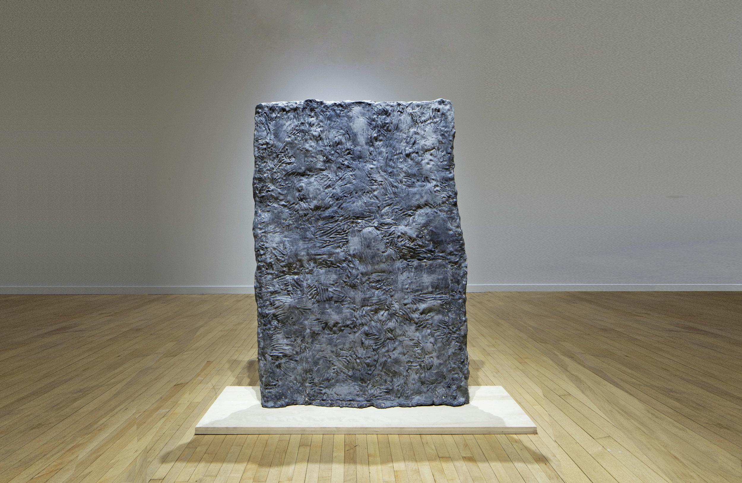Exhale, resin and fiberglass, 72 x 48 x 5 in, 2017. 4th. Bronx Museum Biennial.