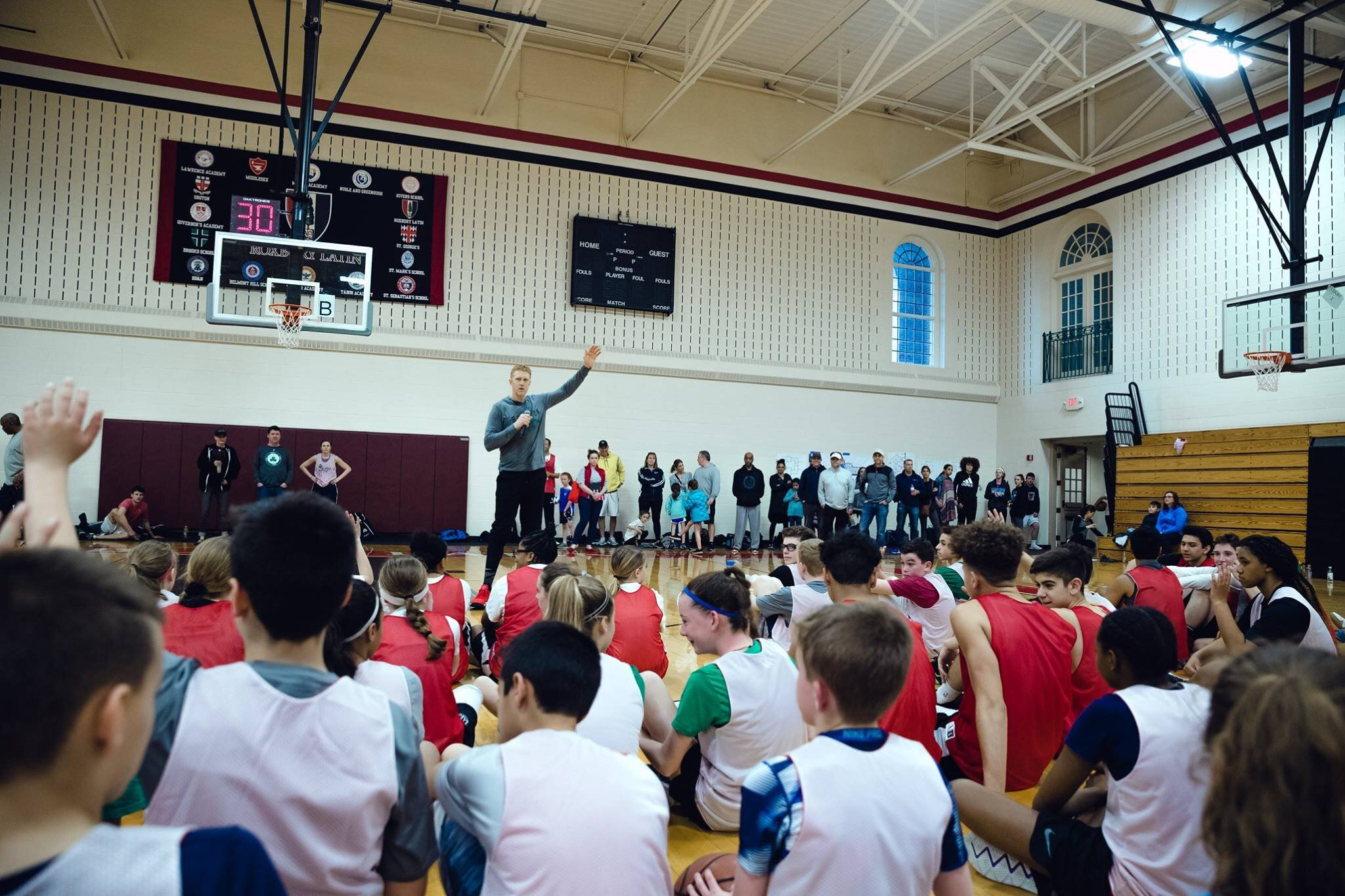 The Scalabrine 3v3 Classic - Brought to you by The White Mamba, Former Celtic and NBC Boston Commentator Brian Scalabrine, this event celebrates the madness of March with a day full 3v3 basketball competition for ALL ages! Prizes, entertainment, food and more! Click here for more information.