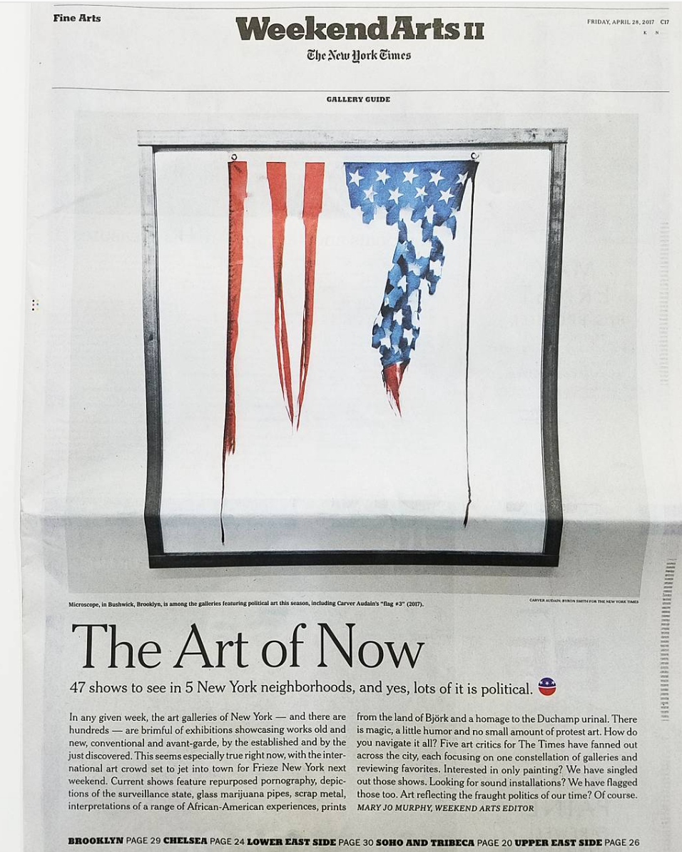 """Ny Times """"The Art of Now"""" 47 Shows in 5 New York Neighborhoods"""