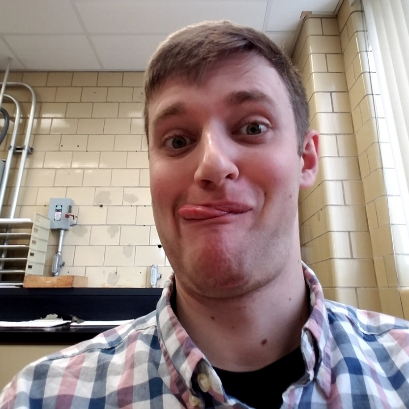 """EVENTS COORDINATOR:  Thomas Bianco  """"I love meeting new people, making new friends, and growing in my faith. The Newman community lets me do all three at once! It's super cool!!"""""""