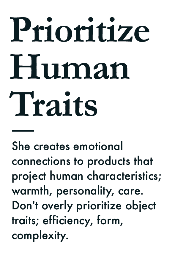 prioritize human traits 4B collective