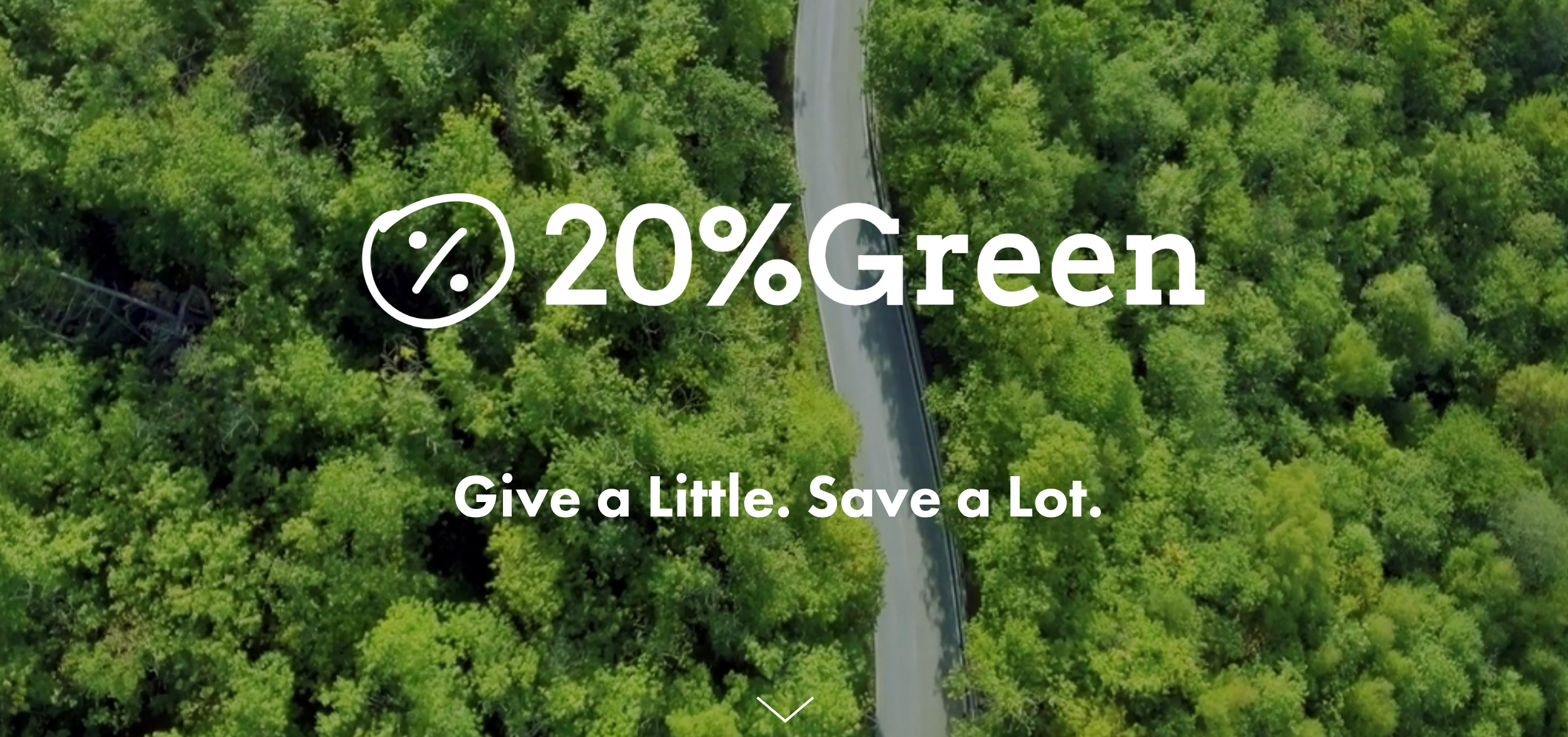 Give a little, save a lot. - 20%Green (www.20percentgreen.com) is a pro bono creative talent platform to help kick start new green ideas and support current ones. Using the spirit of Google's 80/20 innovation time rule - but applying it to our free time instead of work time - we want to encourage creative talent to give 20% of their non-work time to a green project.