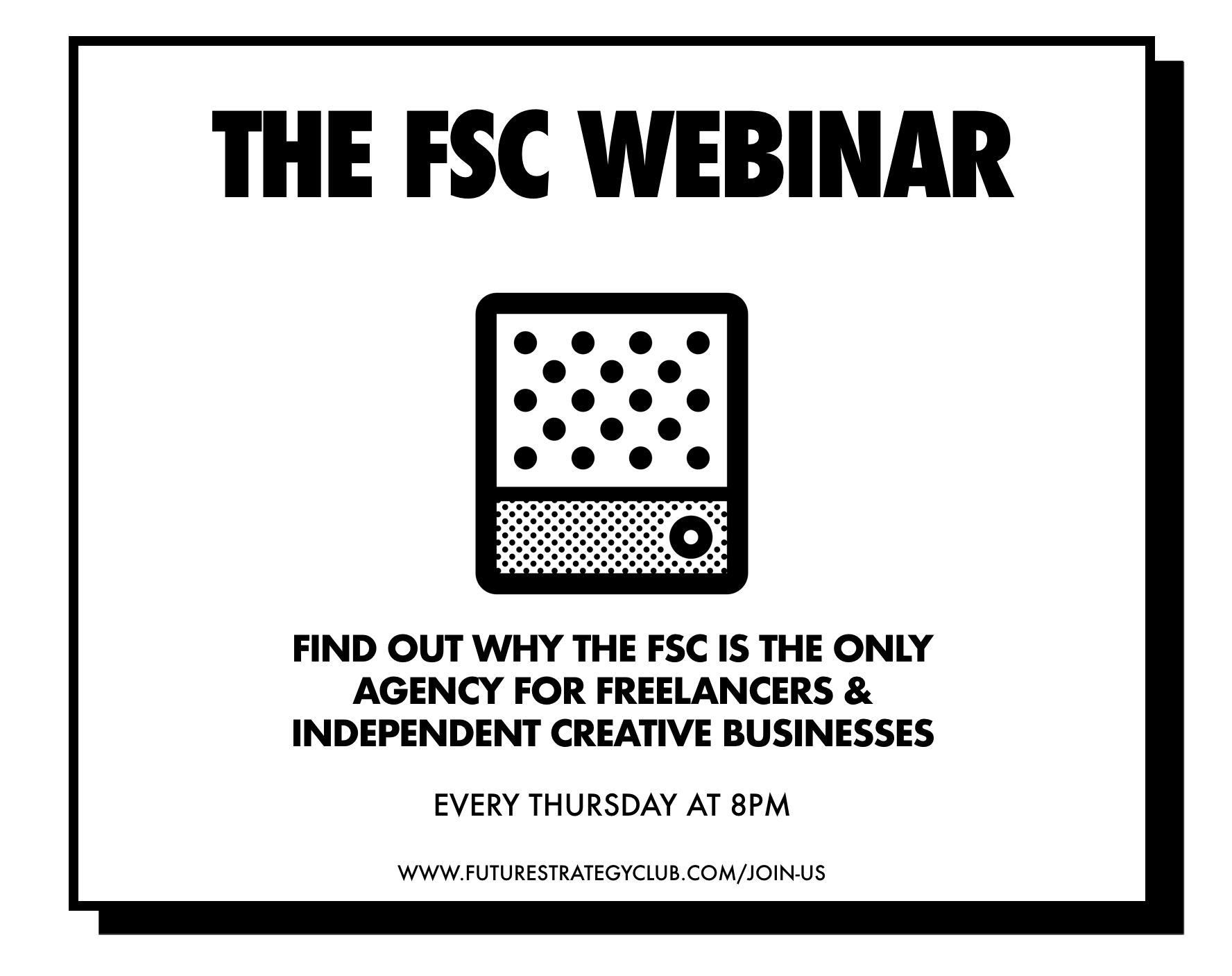 get to know the FSC - Join FSC founder Justin Small on our Thursday webinar to find out why we set up the FSC, how it works and what the benefits of joining are.