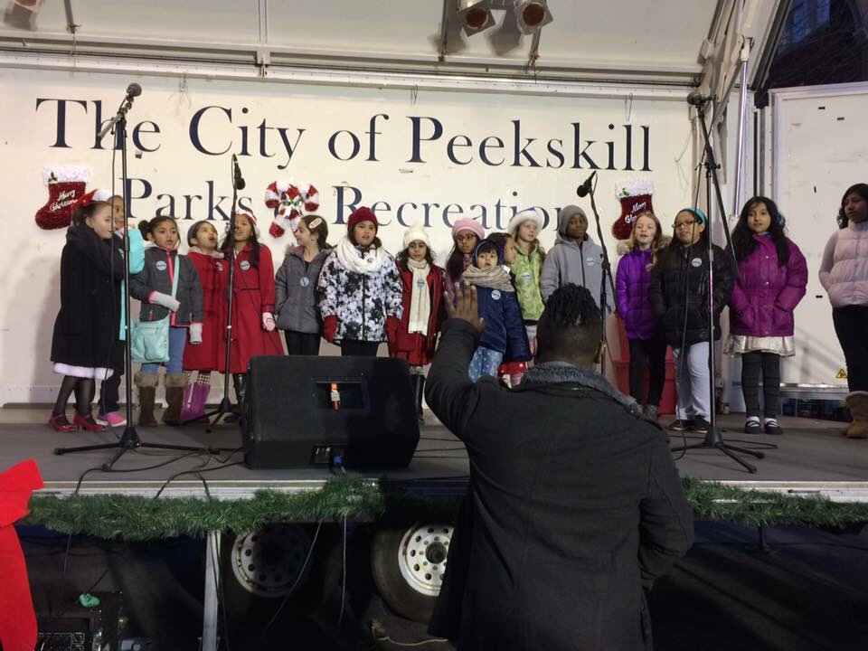 Business Improvement District Tree Lighting 2016