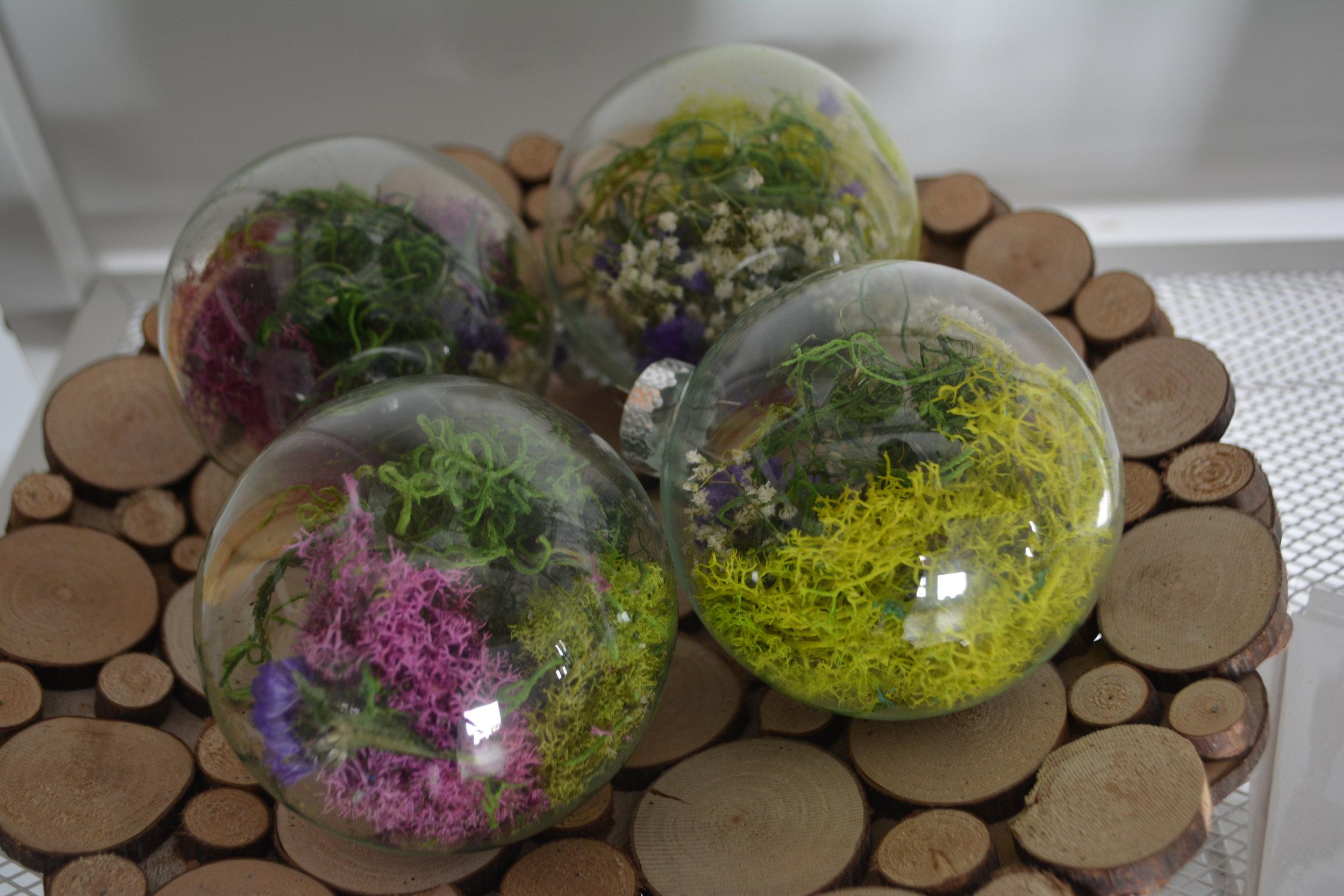 Moss Terrarium Ornaments
