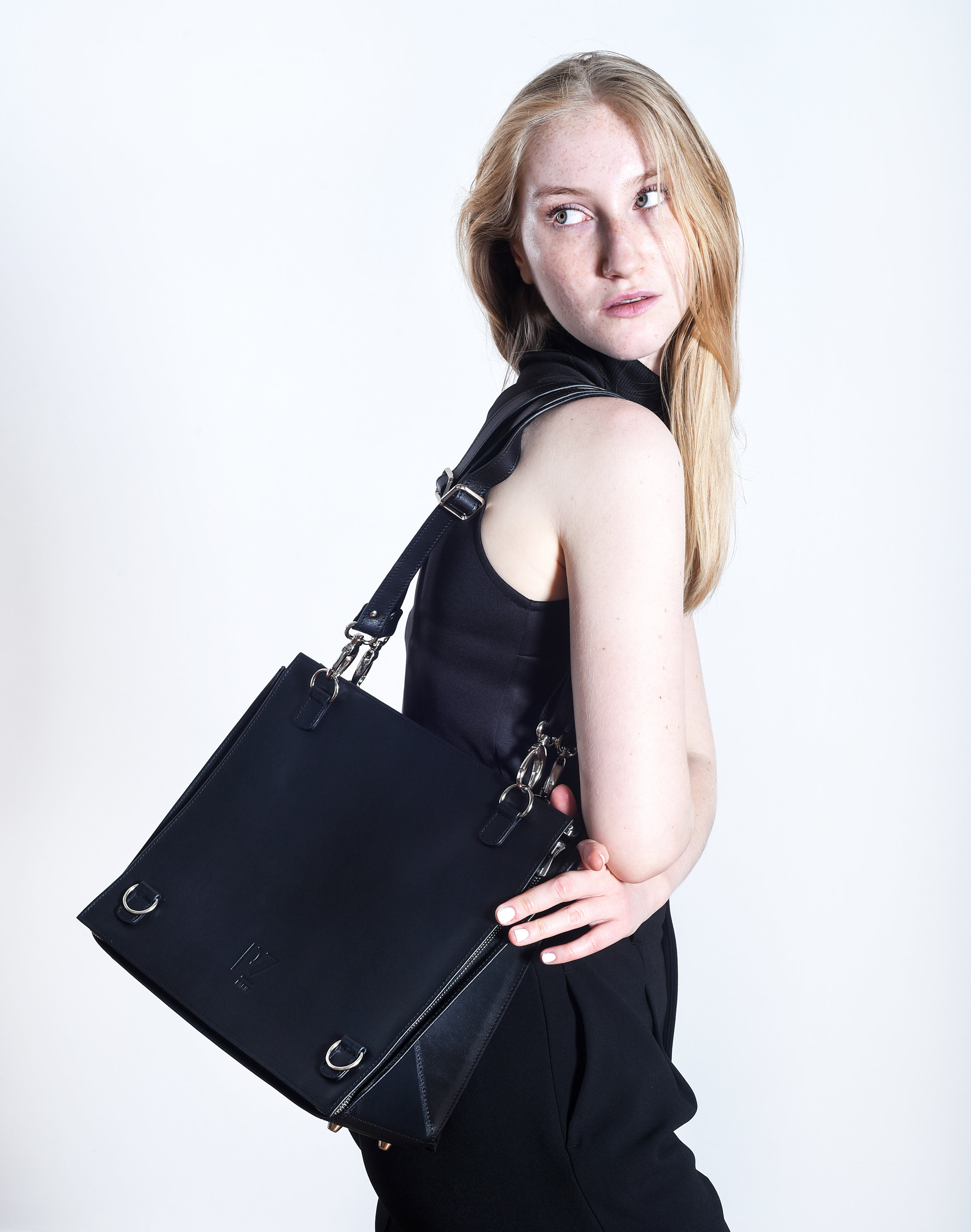 Black luxury bags