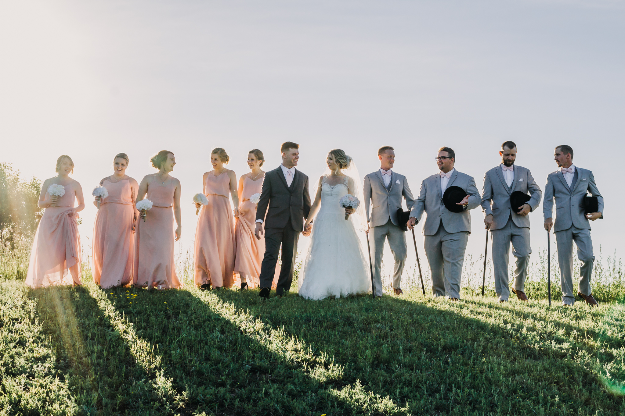 ottawa-valley-wedding-sunset-bridal-party