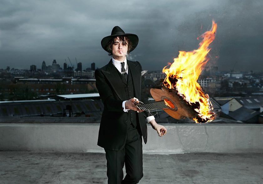 Pete Doherty – Shot by Jude Edginton on a Camden rooftop. 2009 . © Jude Edginton / INSTITUTE