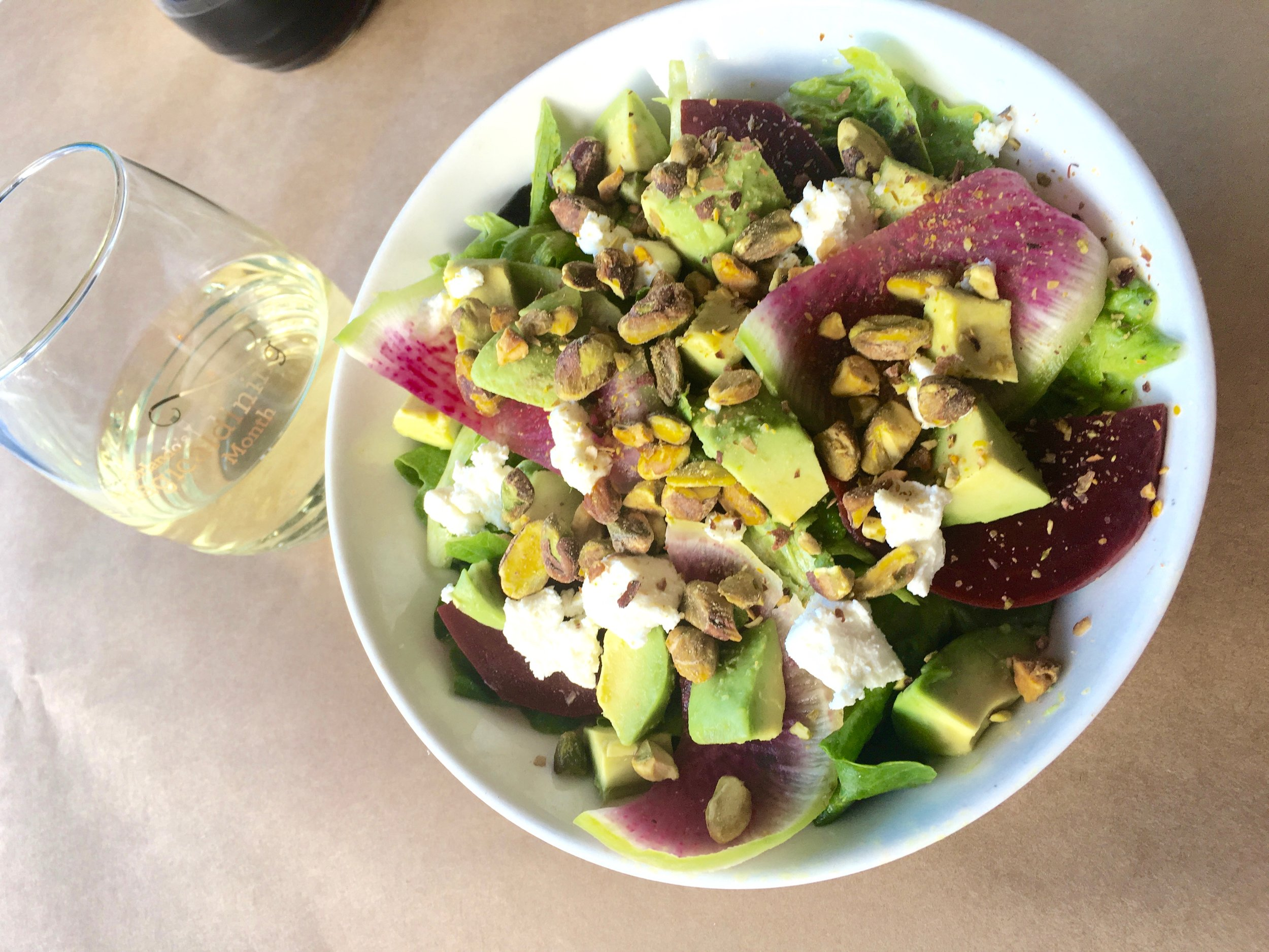 Gatherer salad for Orlando Magical Dining Month 2016