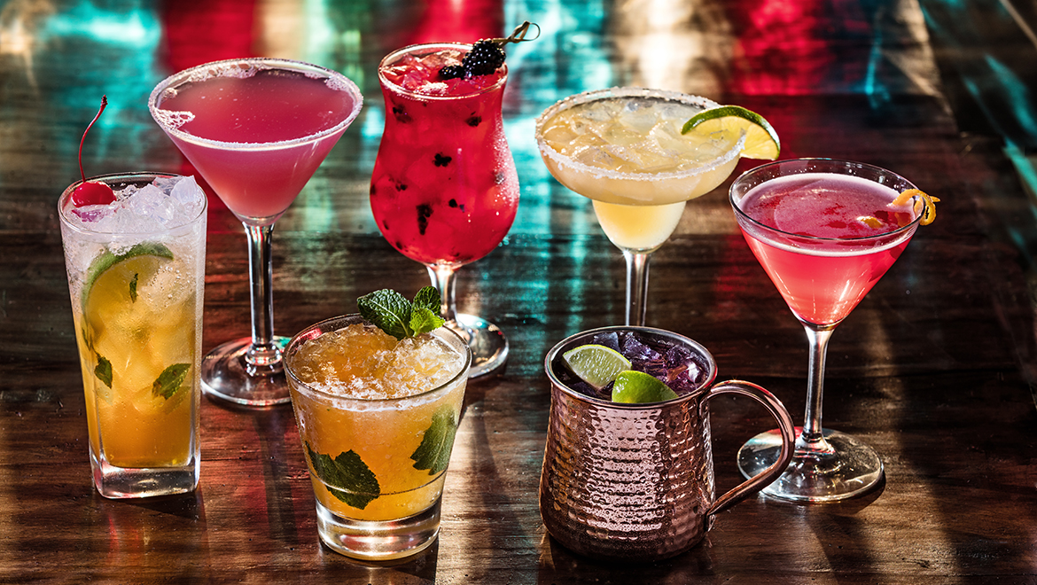 Political? Drinks Red or Blue at Orlando Omni