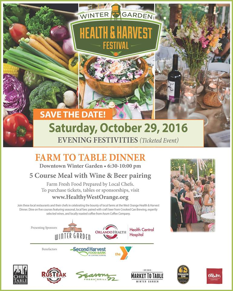 Farm-to-Table Fare at Winter Garden Festival