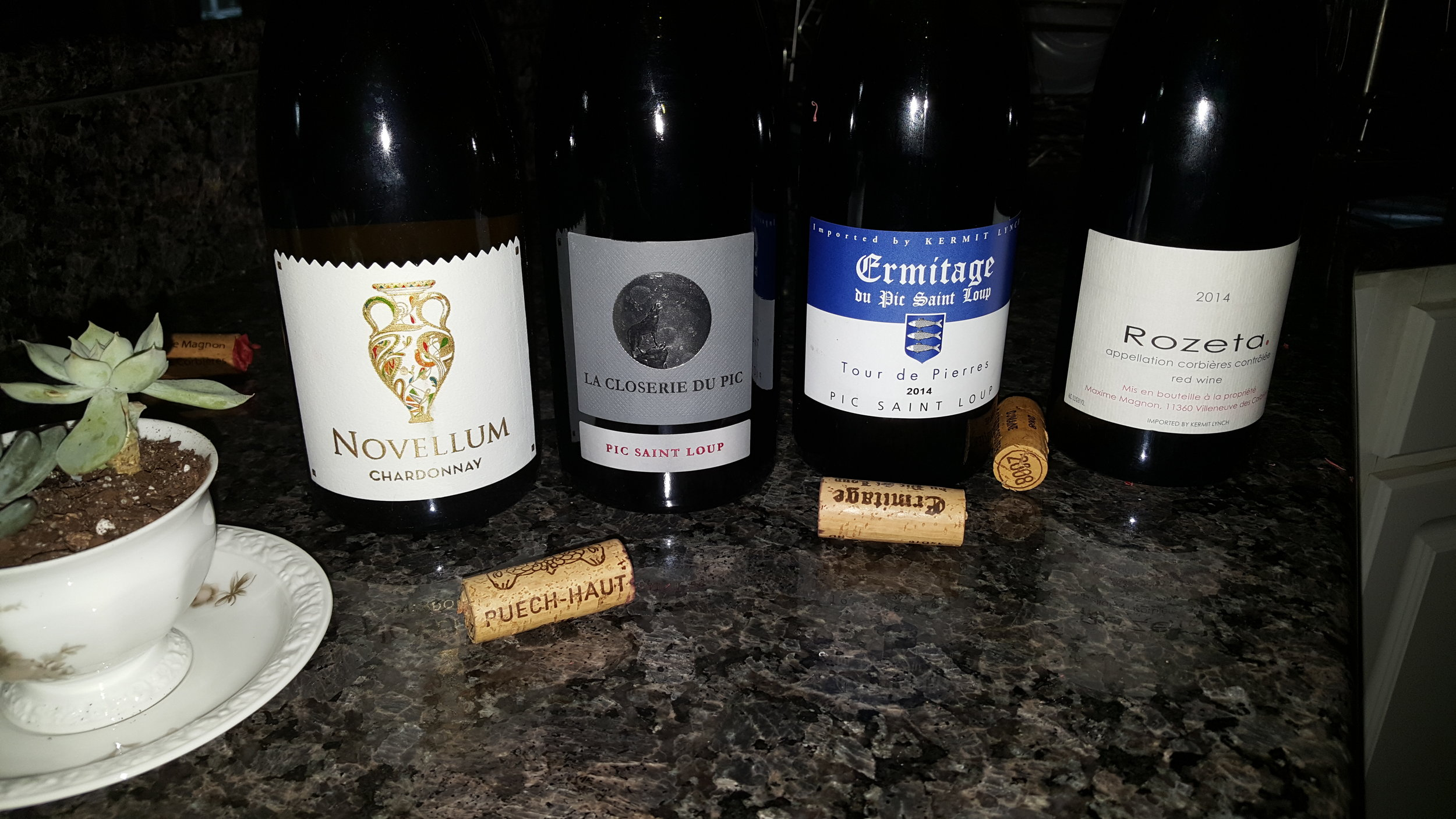 Sample Languedoc Roussillon Wines at Cafe de France