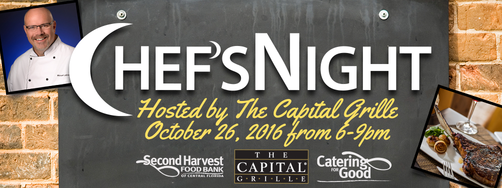 Eat a Capital Grille Meal at the Food Bank