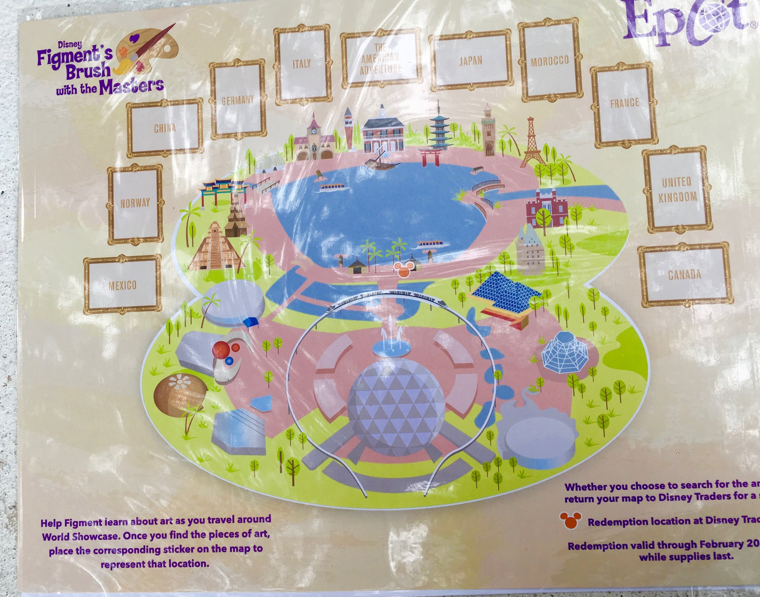 Using this sheet, children seek clues via the Figment's Brush with the Masters Scavenger Hunt.