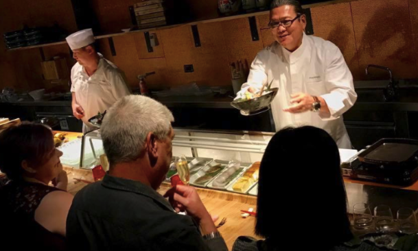 Try 'Momakase' with the Iron Chef