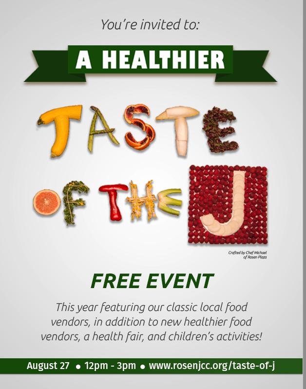 This Eatathon Aims to be Healthy -- A Healthier Taste of the J