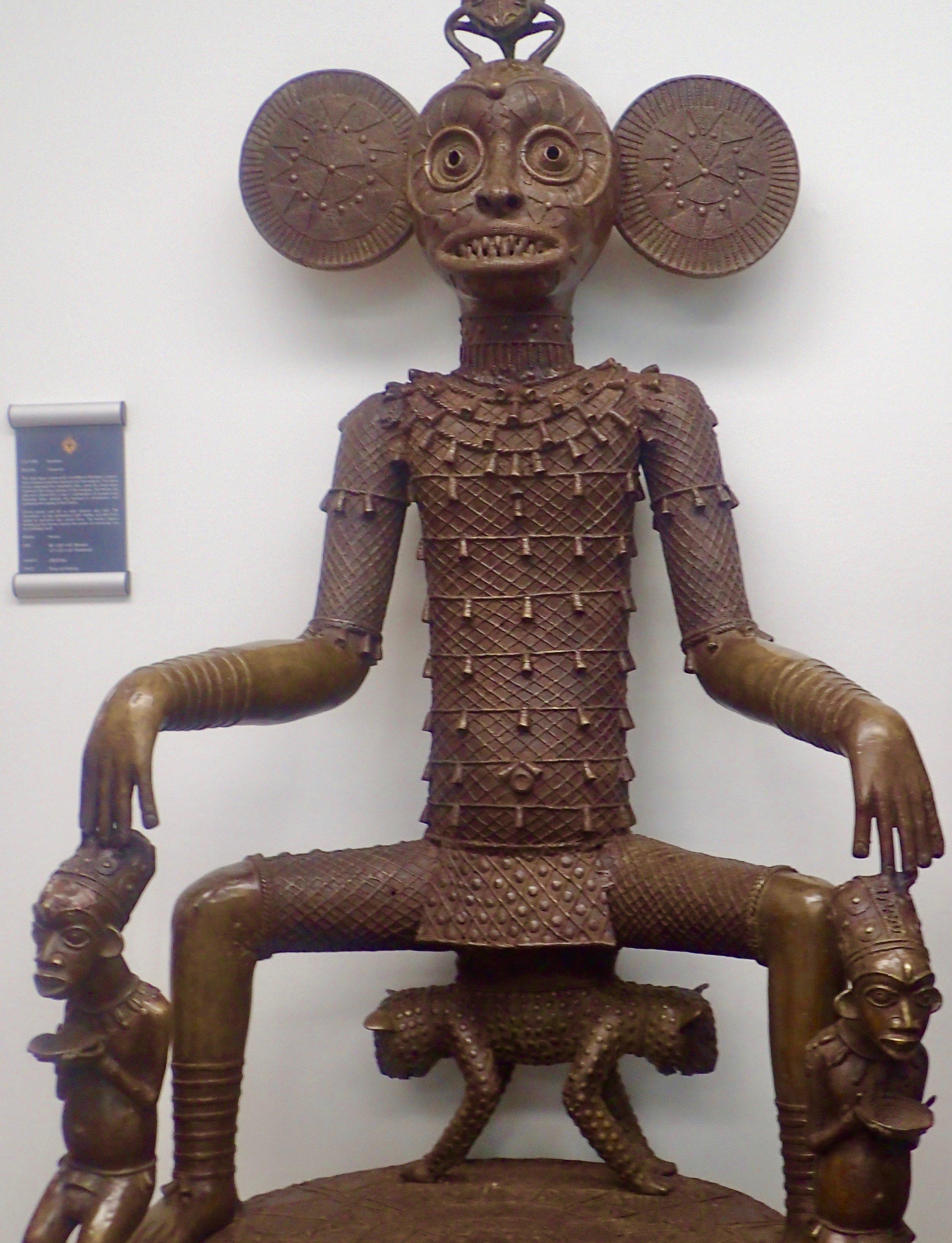 See African Tribal Art at Bronze Kingdom monkey ears