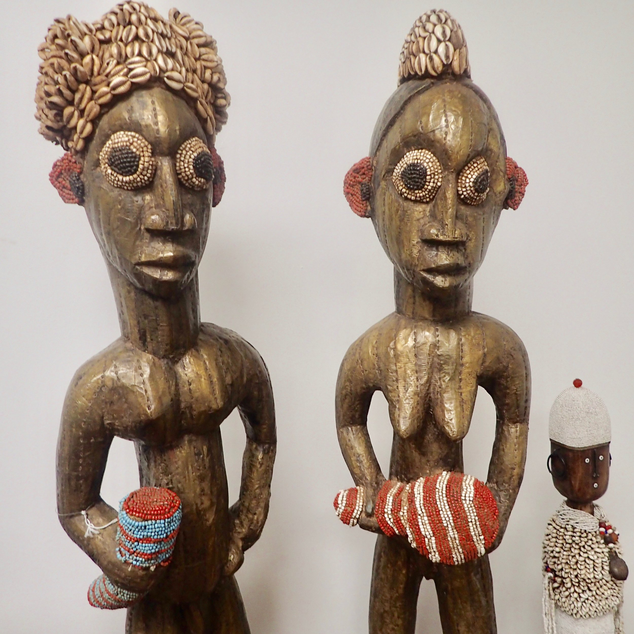 See African Tribal Art at Bronze Kingdom duo