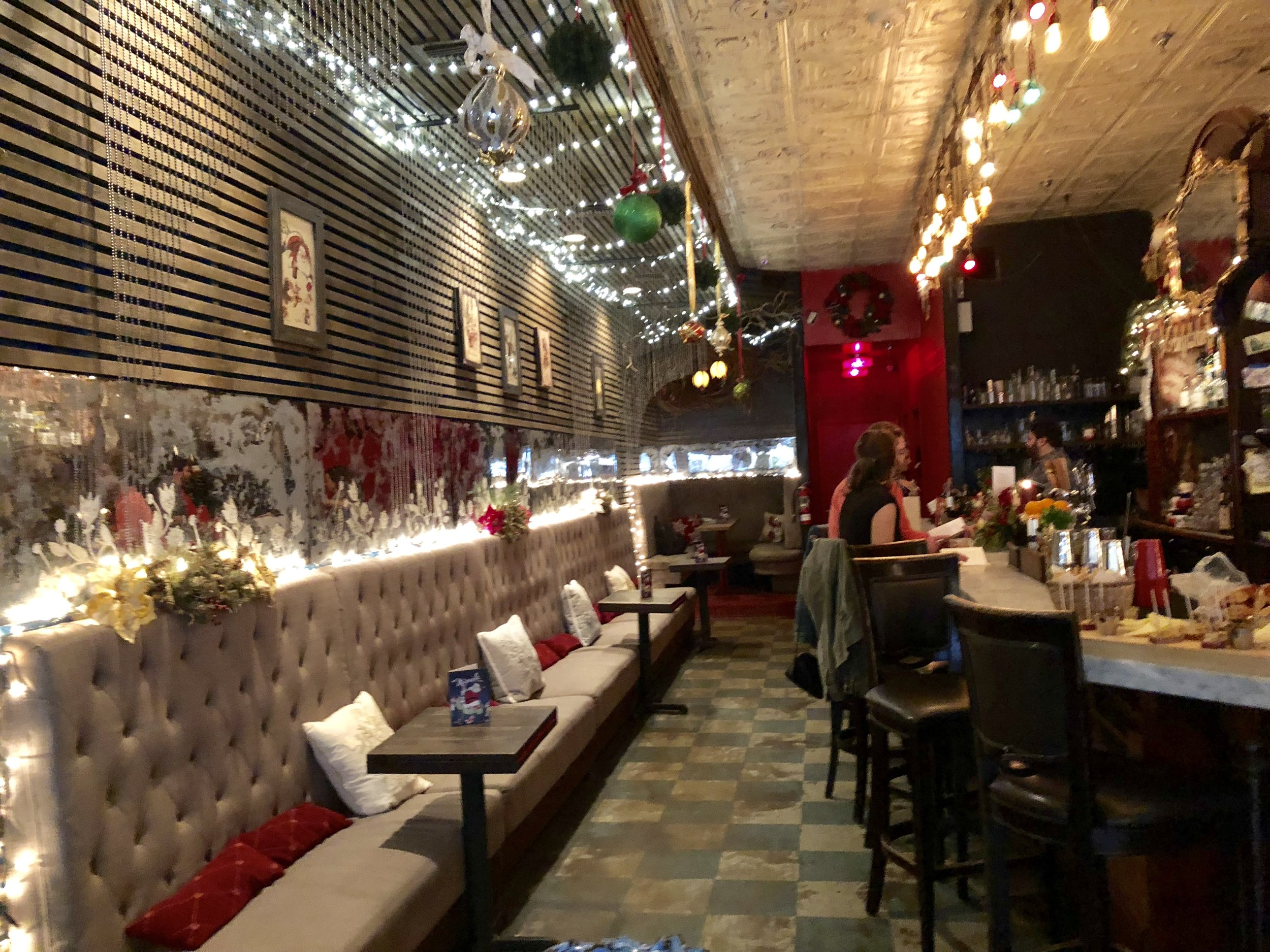 Miracle on Orange: The Courtesy Bar Gets in the Holiday Spirit
