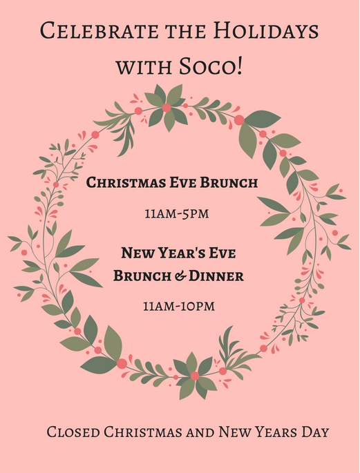 Where to Eat on Christmas in  Orlando 2017 Soco.png