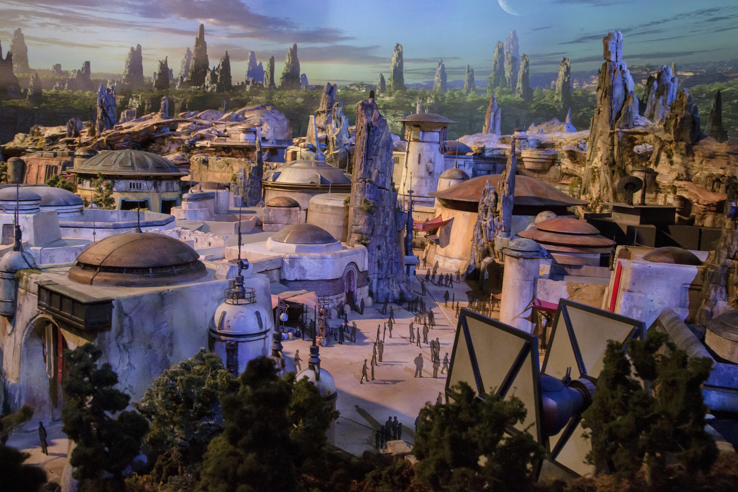 Rendering of Star Wars: Galaxy's Edge