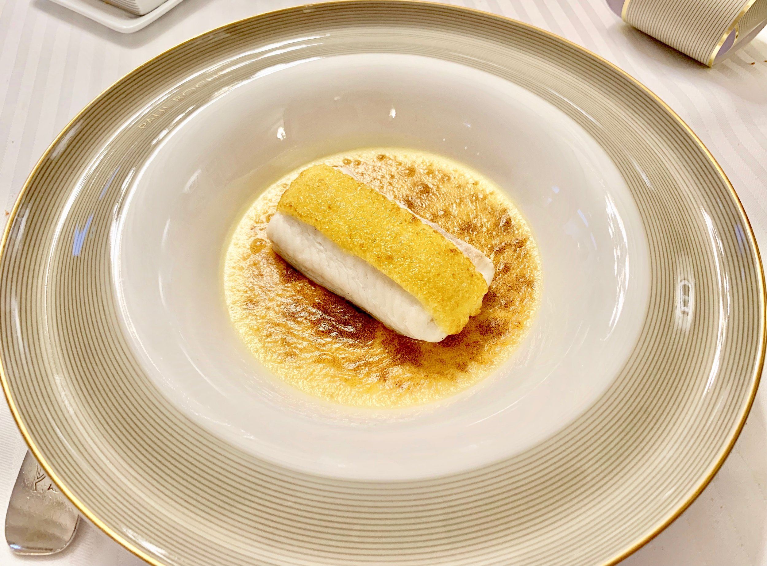 Filet of sole from the Normandy coast in citrus fruit 'viennoise'