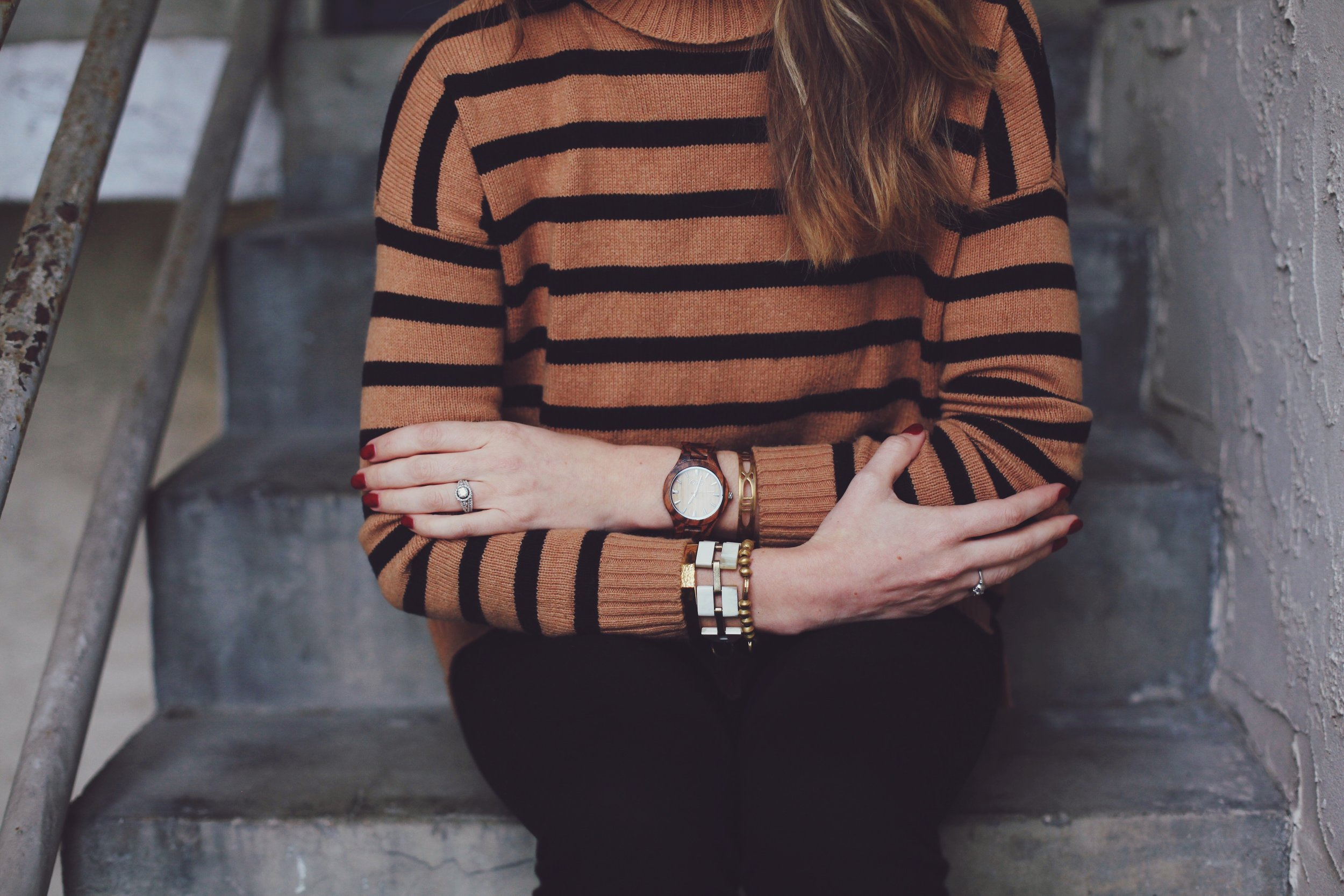 Noonday Collection bracelets and JORD W