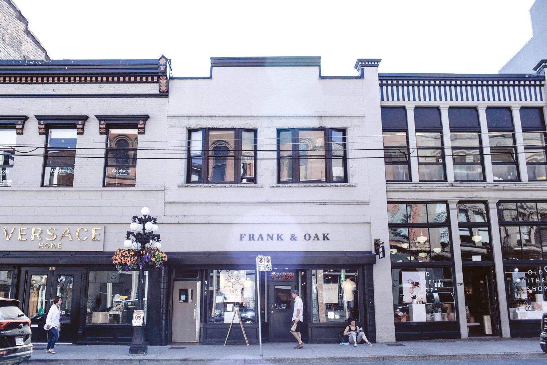 Frank & Oak | Vancouver, Canada