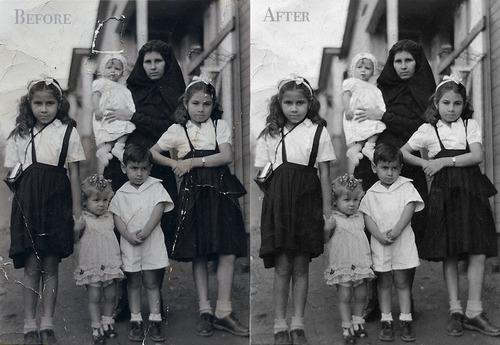 Photo Reconstruction