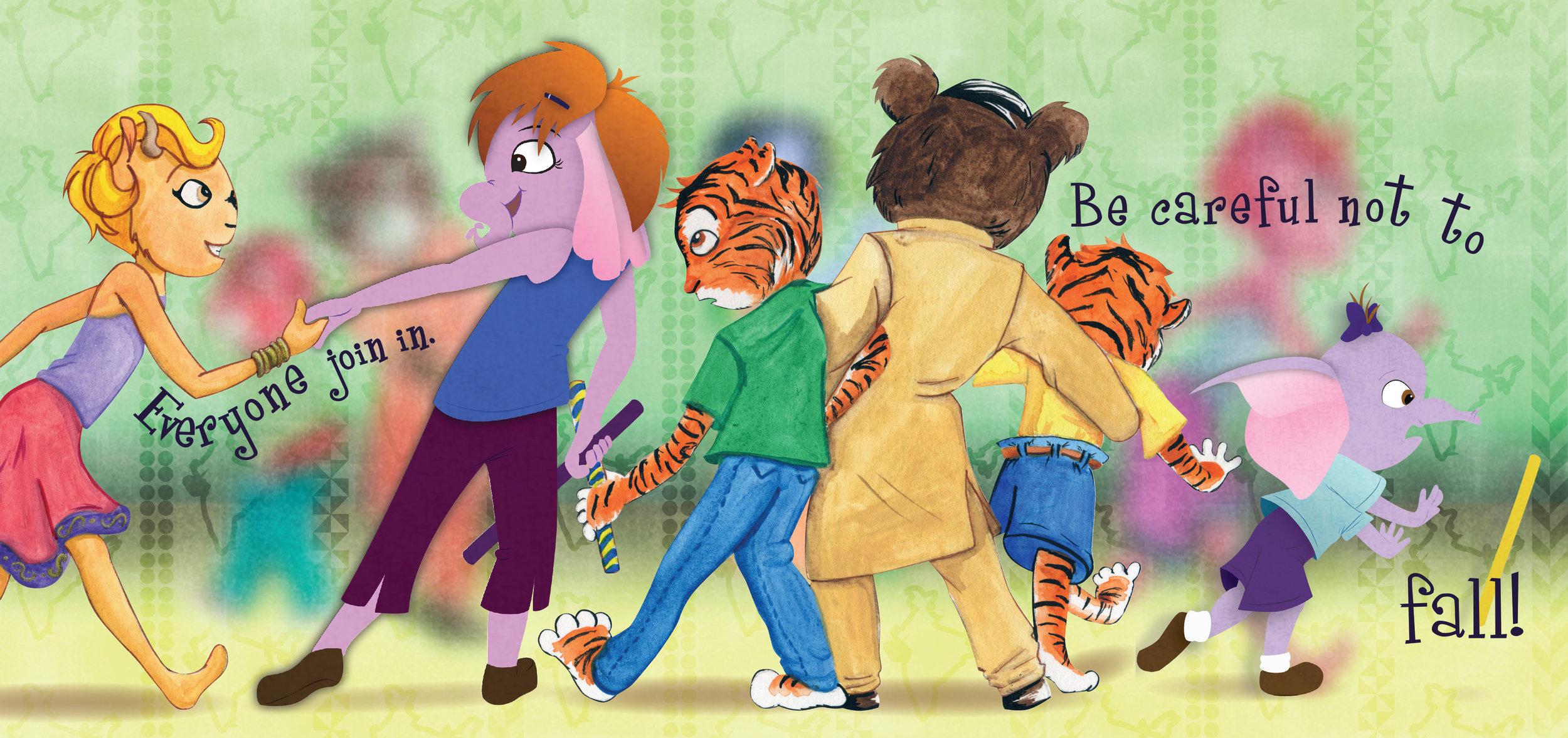 """""""Dances of India"""" Children's Book"""