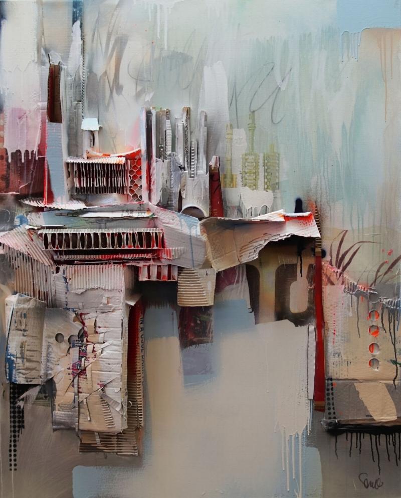 """""""Hermitage"""", 60 x 40, 2017"""
