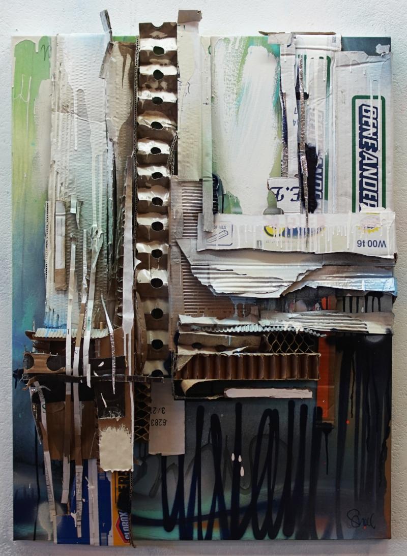 """Periscope"" 40 x 30, acrylic,2017"