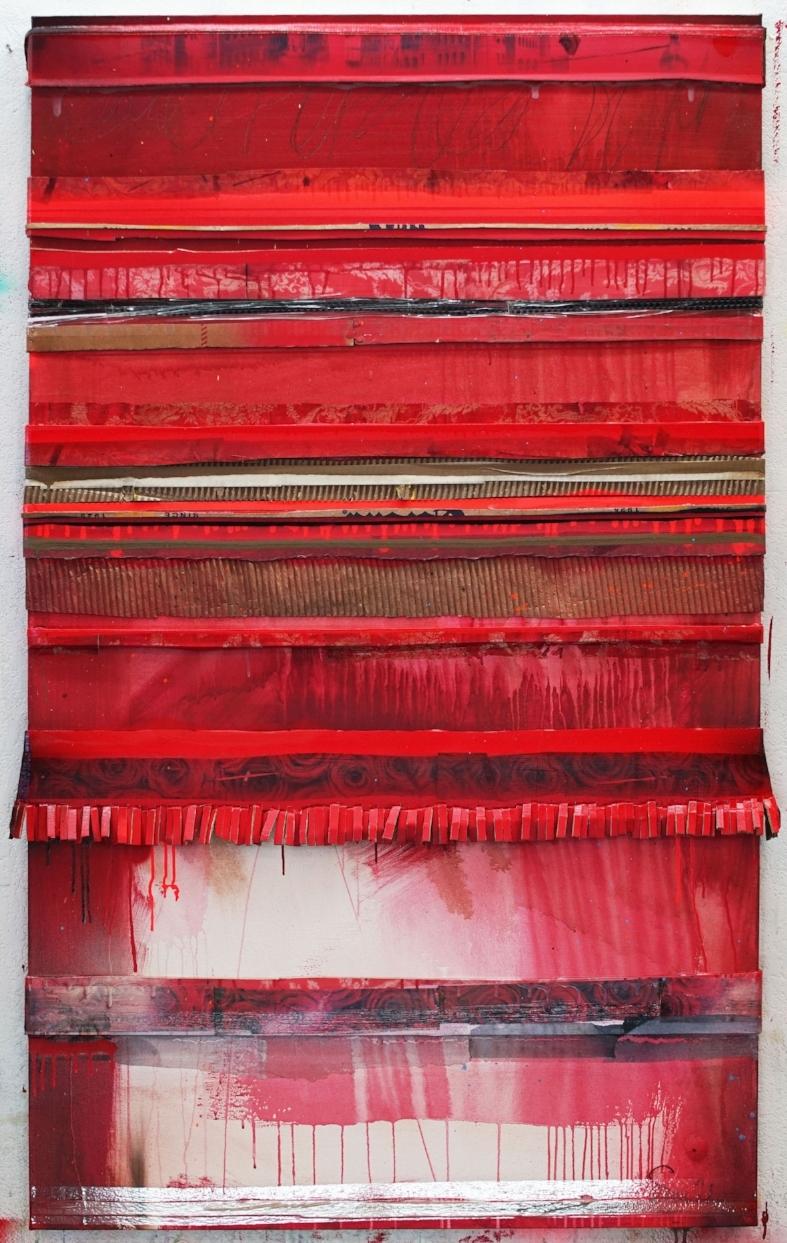 """Red Carpet"", 60 x 36, 2018"