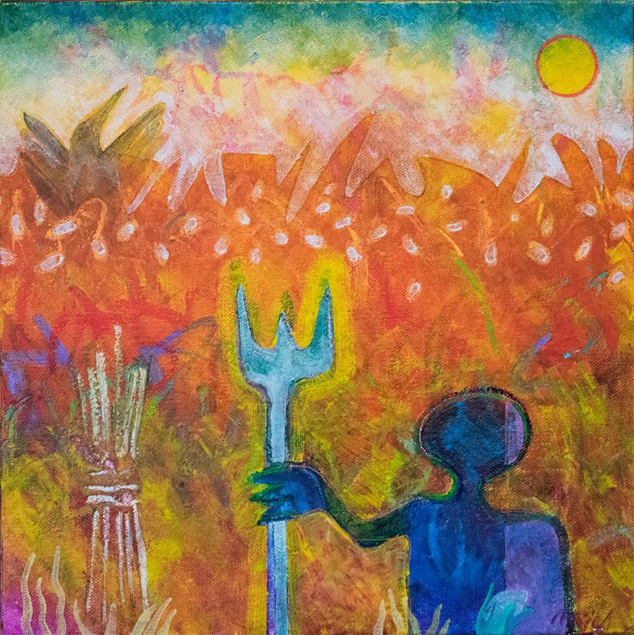 Raheem at Harvest