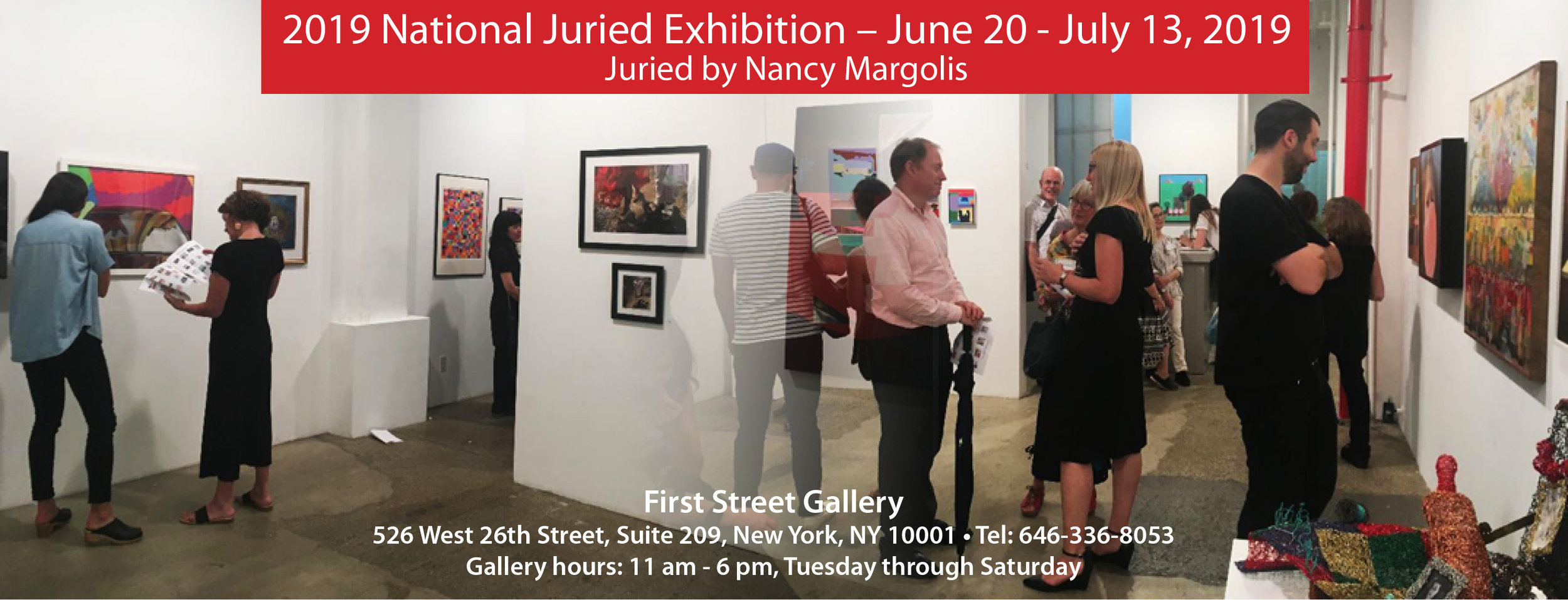 My painting, Harvest Eclipse, was accepted at the 2019 Juried Exhibit, First Street Gallery, Chelsea, NYC. Thank you Nancy Margolis.