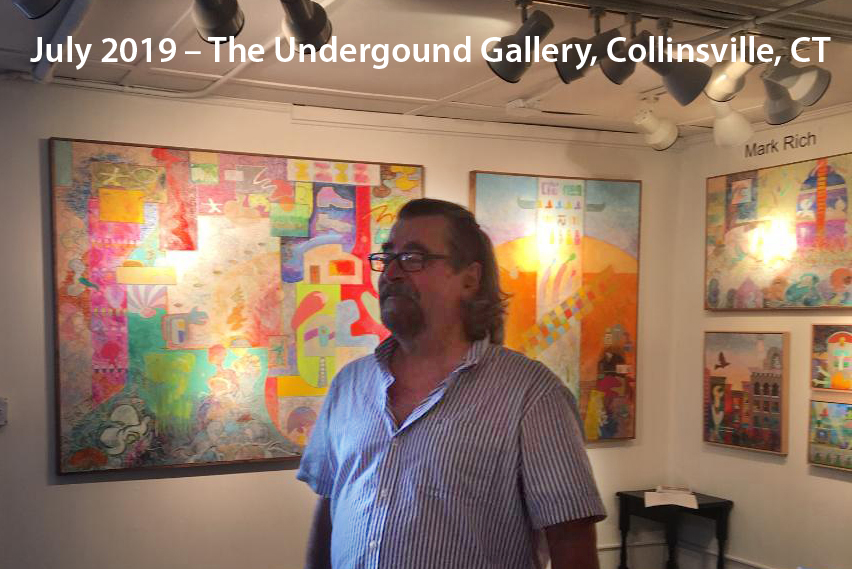 Summer 2019, that big one sold opening night. The Underground Gallery, Collinsville, CT. Thank you Tom Kutz & Lisa Sharp.