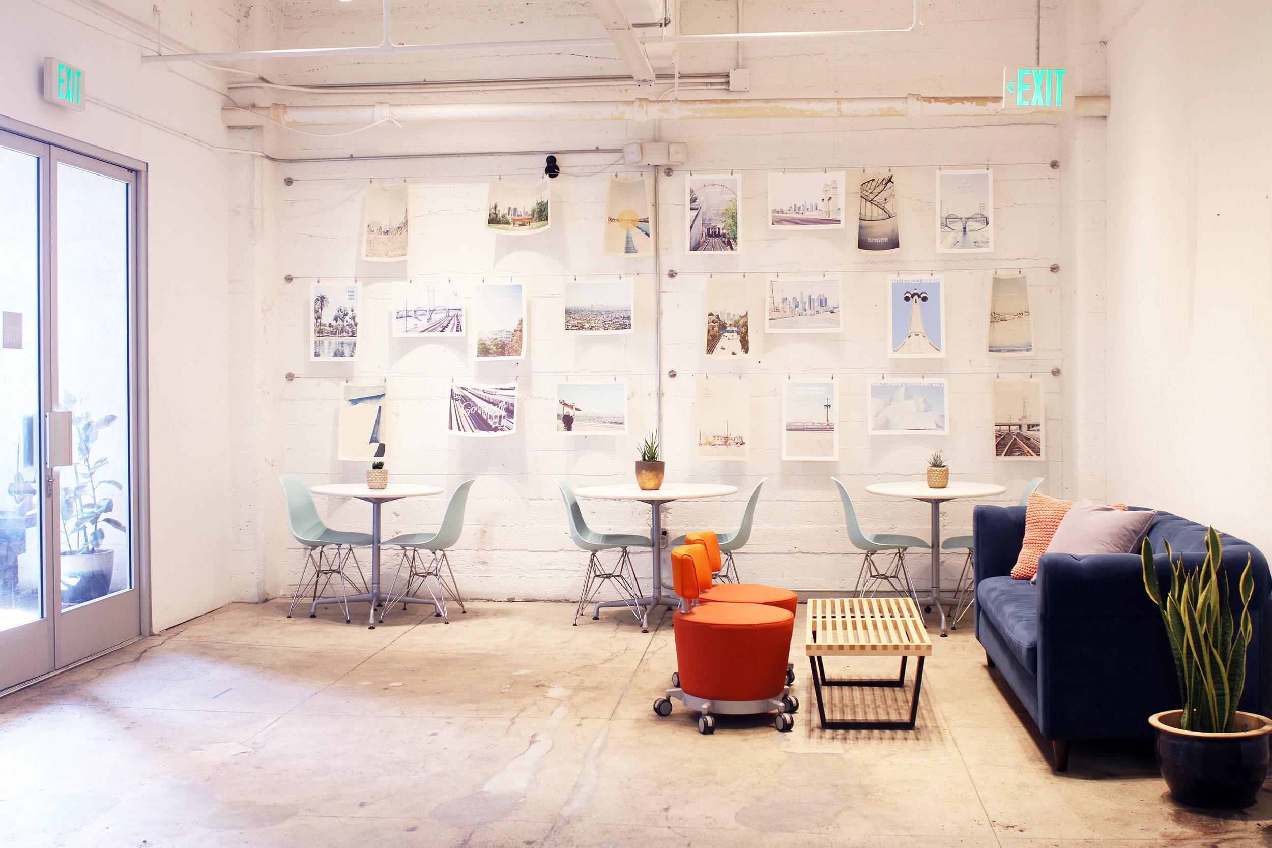Art of Freelance is a BIG fan of the Hub located in the Arts District in Downtown Los Angeles. It's one of the participating coworking spaces in the Croissant network.
