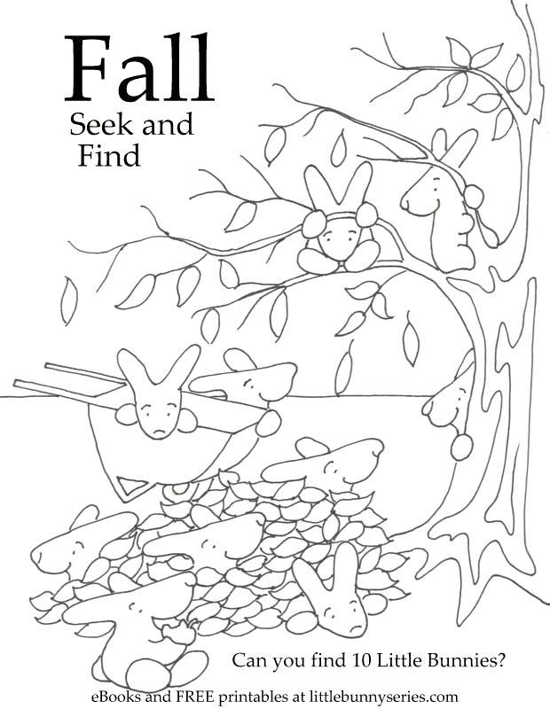 Fall Seek and Find PDF