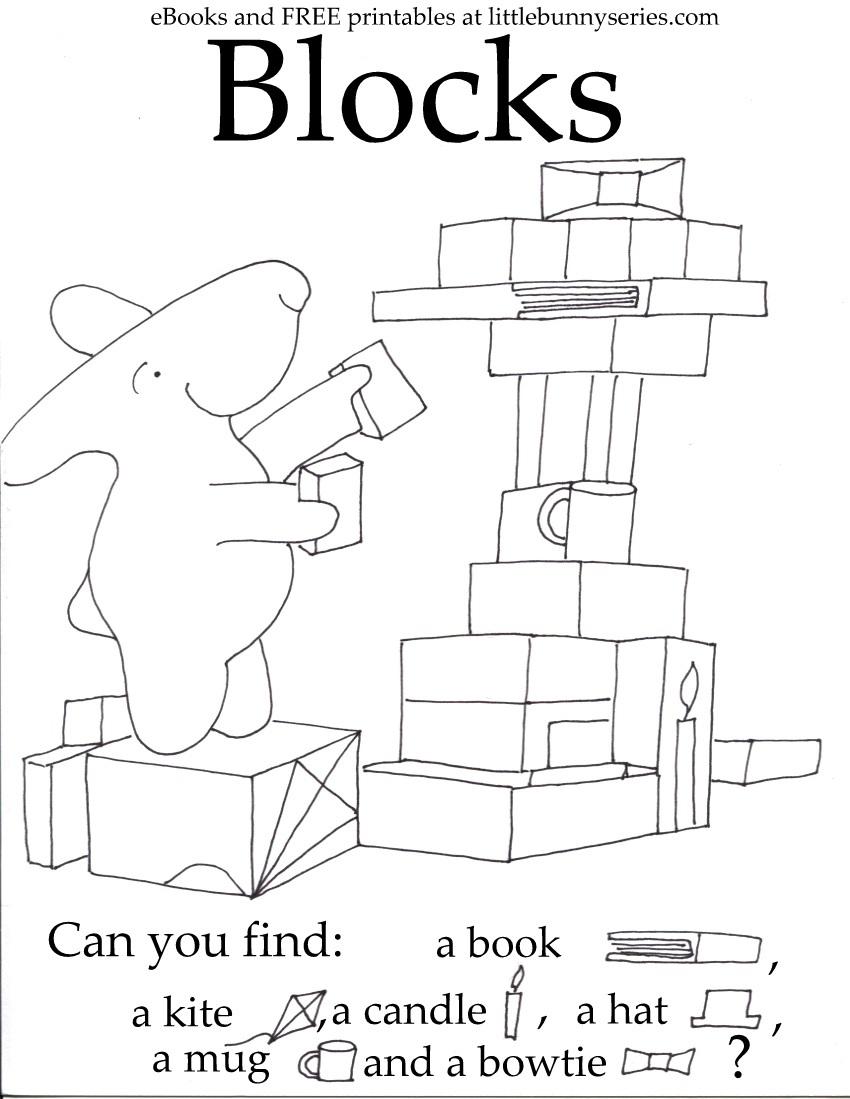 Blocks Seek and Find PDF