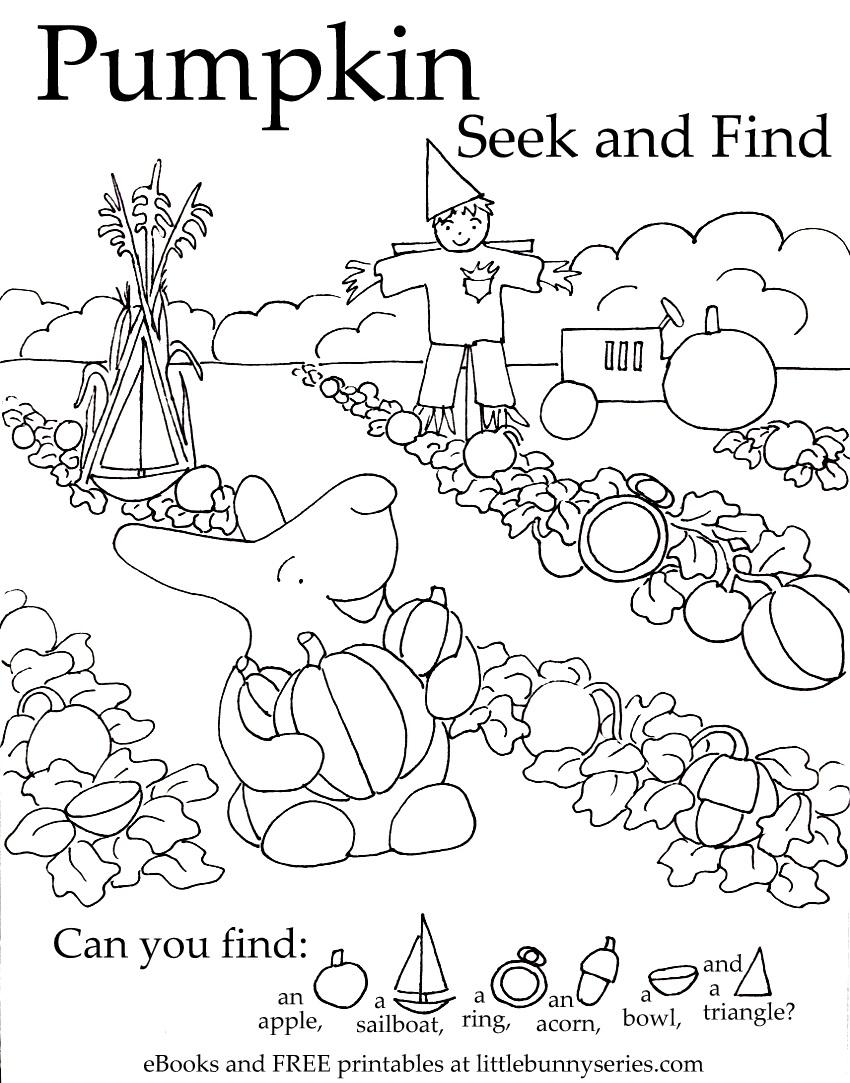 Pumpkin Seekand Find PDF