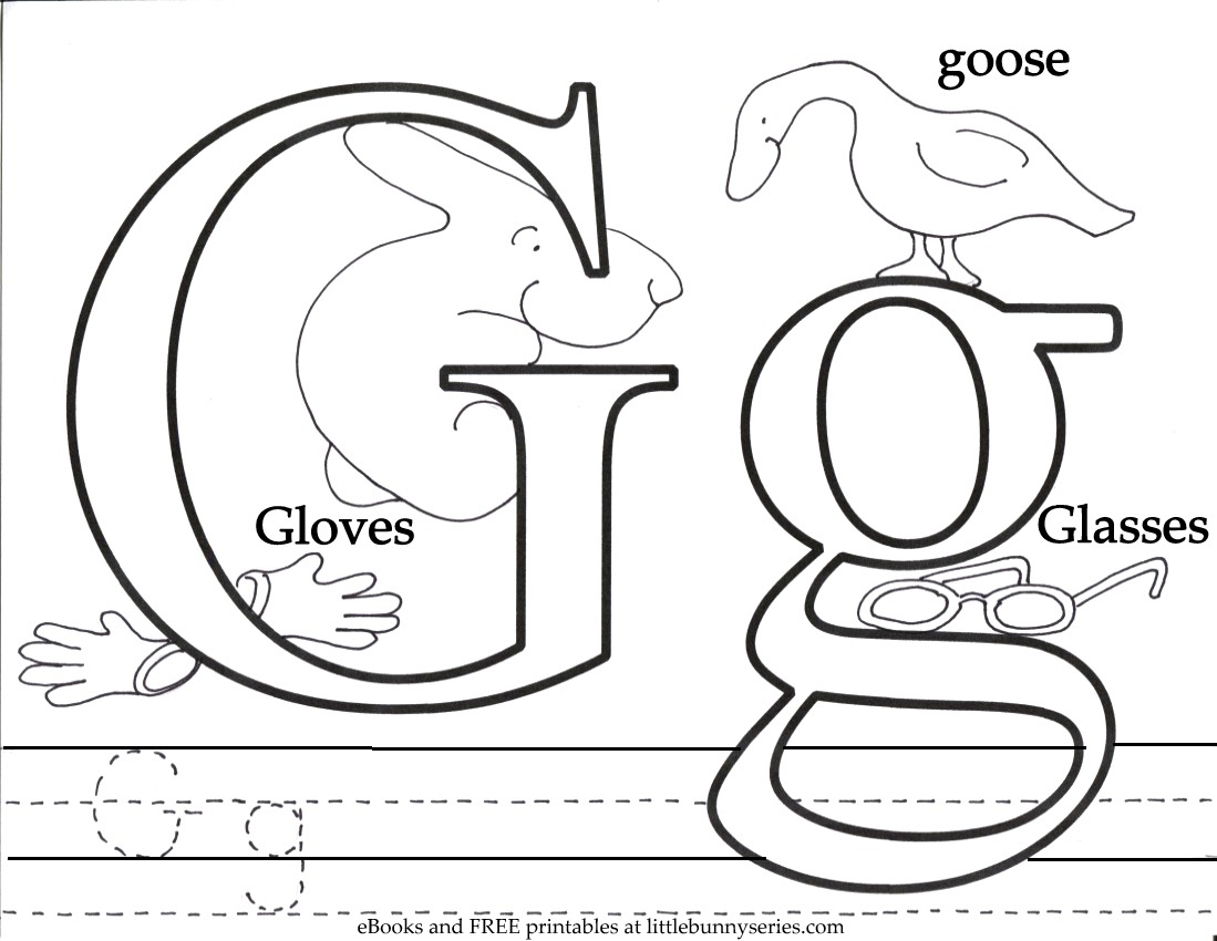 Letter G Worksheet: Tracing, Coloring, Writing & More! – SupplyMe | 773x1000