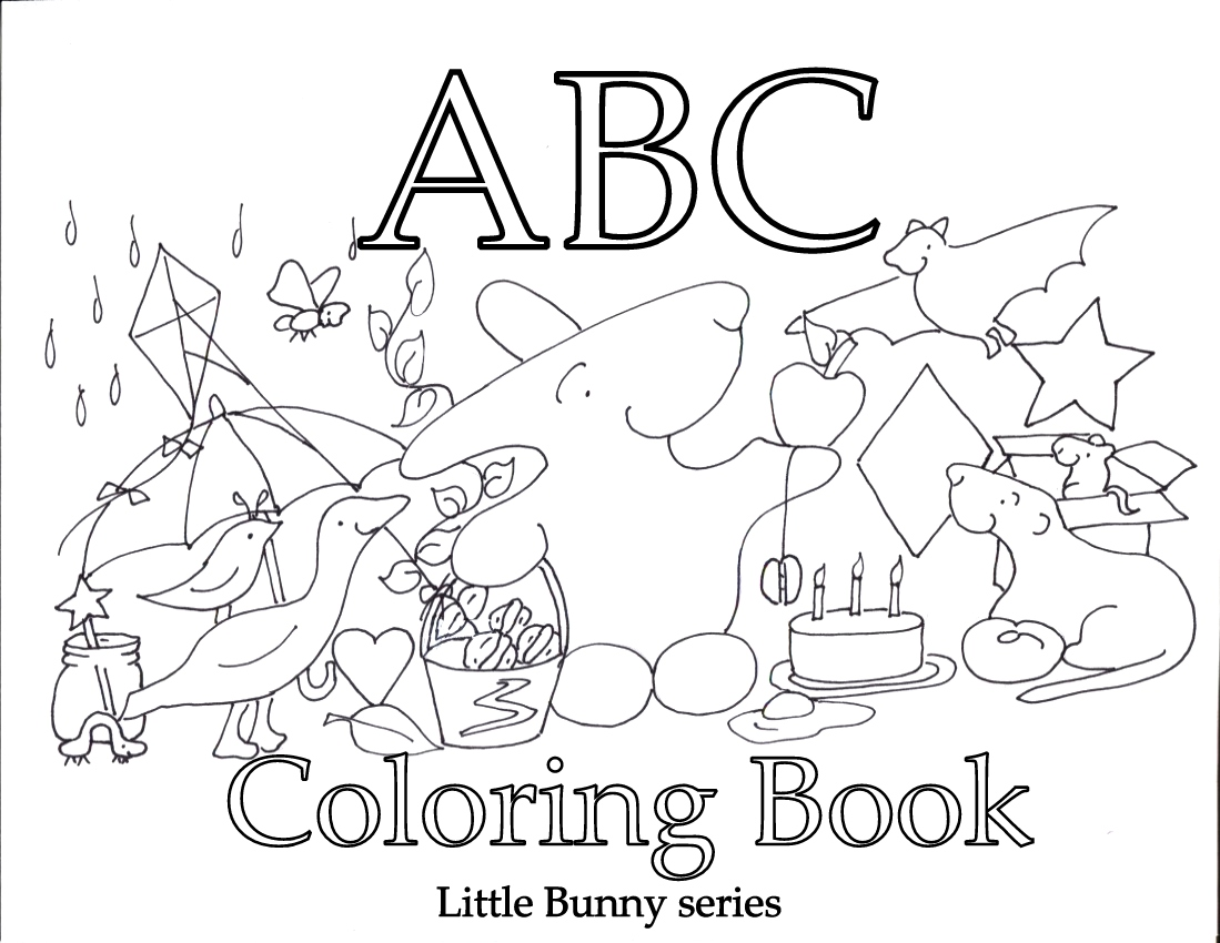 Click on the above image for a Cover for the A to Z Coloring Book PDF.