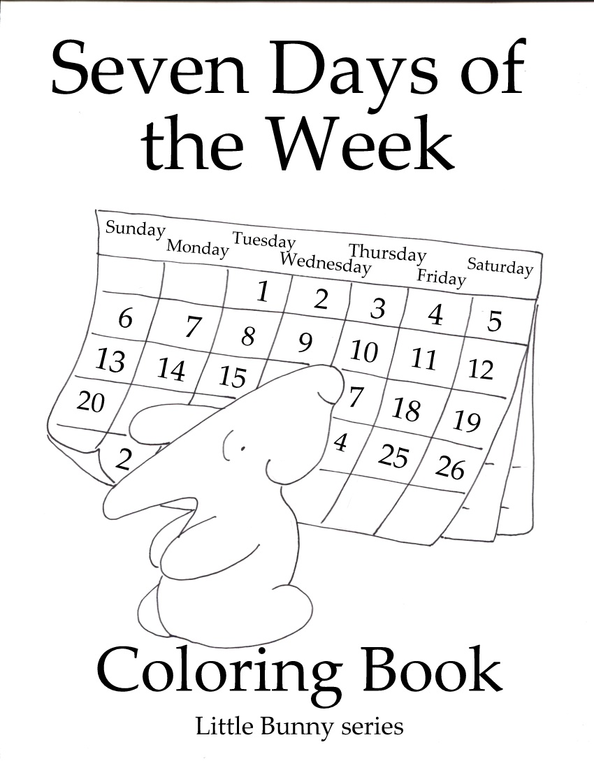 Click on the above image for the Seven Days in a Week Cover PDF.