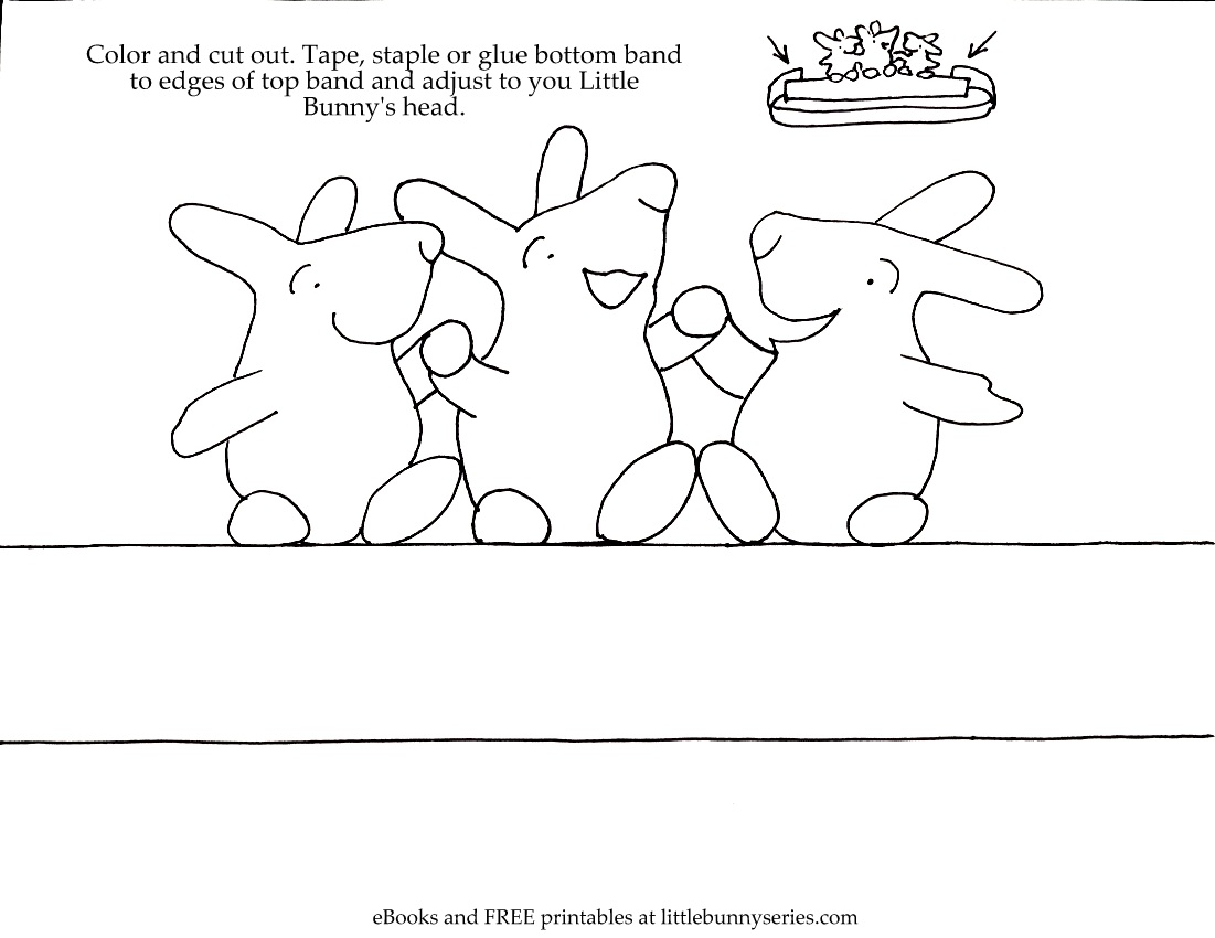 Click on the image above for a Dancing Bunny Crown PDF