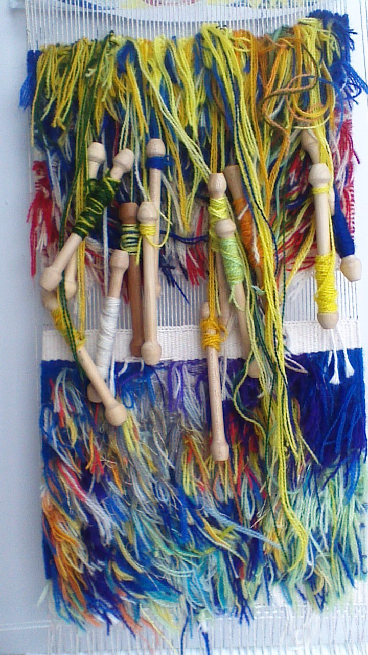 Weaving from the back