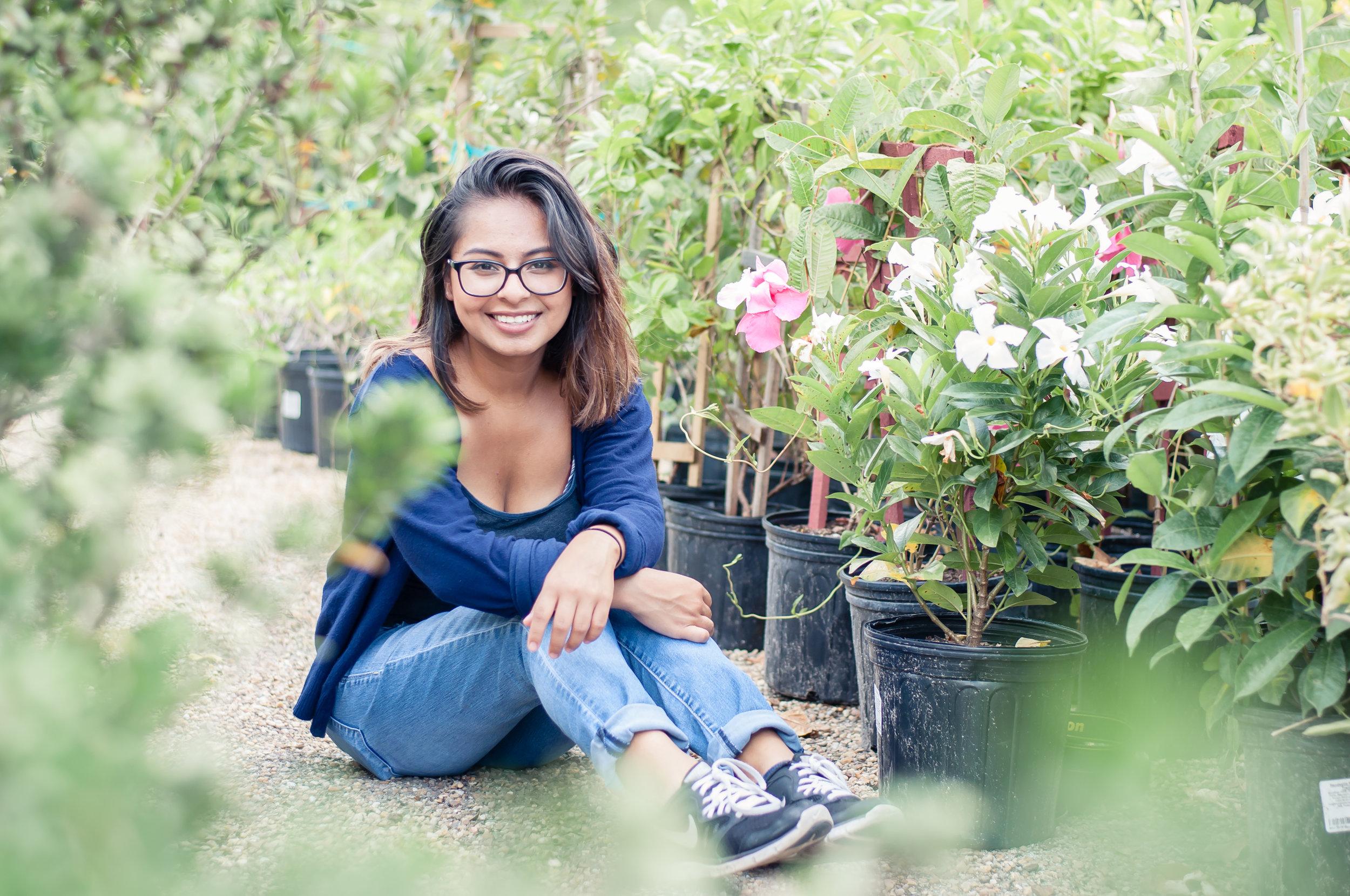nursery garden photo session