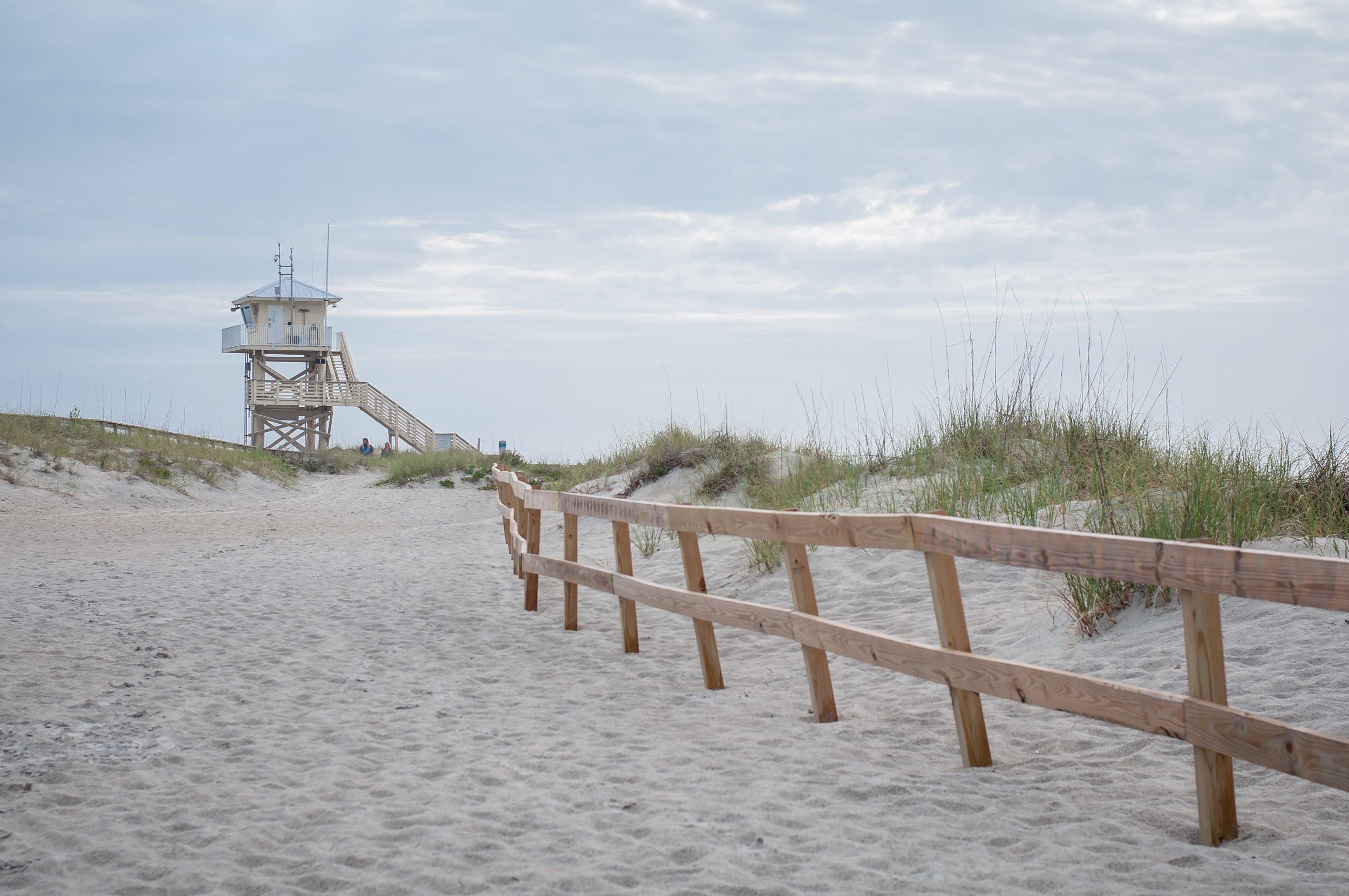 Ponce Inlet Beach.  My favorite beach, so far! It feels like home when I go to Ponce Inlet. The widespread of beautifully soft, white sands, and the stunning views of dolphins playing in the water, make this beach my absolute favorite.